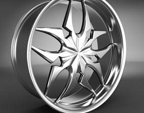 3D Wheel Rim car