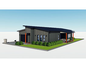 Australian House 1 3D
