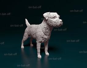 Border terrier 3D printable model