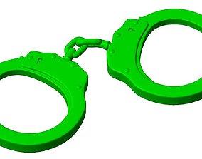 3D printable model Handcuffs