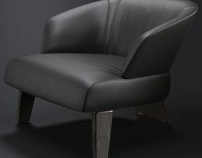 3D model Minotti Creed Large Armchair