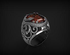 Ring Snake 3D print model jewelry