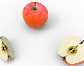 3D asset VR / AR ready apple Apple