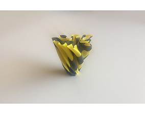 3D printable model vase Dual Extrusion Vase 6