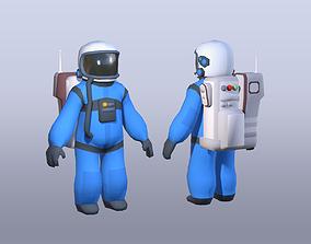 Spaceman character 3D model