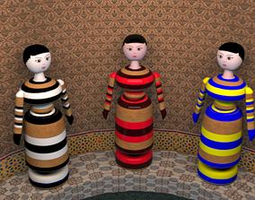 The Wooden Dalls 3D