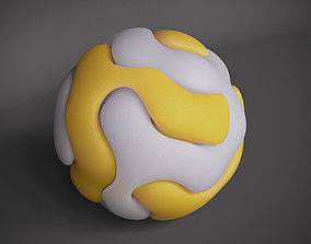 3D printable model Gyroid Double Sphere