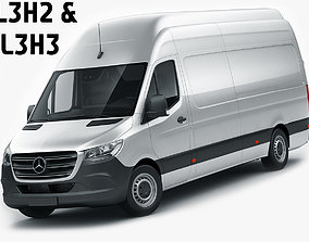 Mercedes Sprinter 2018 long L2H3 L3H2 L3H3 3D