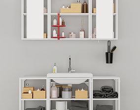 3D model Bathroom furniture enhet