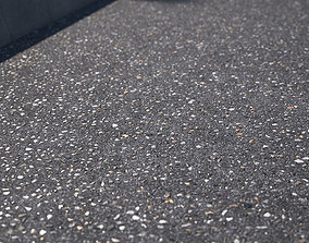 Large area seamless new asphalt texture 3D model