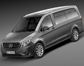 Mercedes-Benz Vito Tourer 2015 3D model