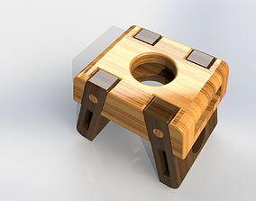 Low Stool LOWTIM 3D model