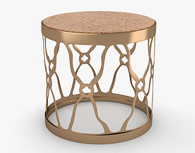 3D model Round Side Table