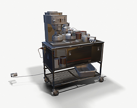 Cart Hospital 3D asset realtime