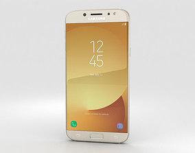 Samsung Galaxy J7 2017 Gold 3D