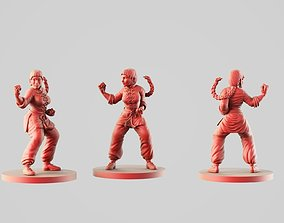 3D print model Xin martial arts teacher