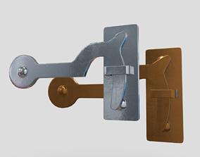 Hook Closure 3D model