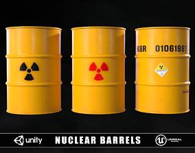 Nuclear Barrels 3D model
