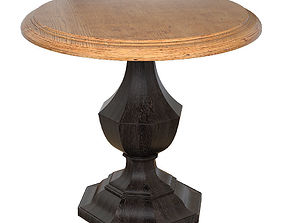 3D model Byron Round Accent Table
