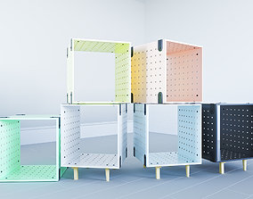 Urban Outfitters Modular Storage Unit 3D model