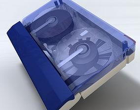 3D model Mini DV Video Tape