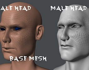 3D asset Male and Female Base Mesh