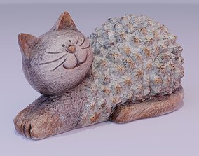 3D model The cat statuette
