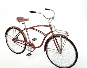 Retro Bicycle retro 3D model
