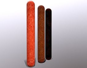 Pepperoni Stick 3D model VR / AR ready