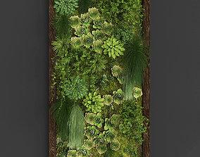 Vertical gardening 03 3D asset
