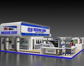 Mezzanine Exhibition Stall Stall Area 156 Sqr 3D model