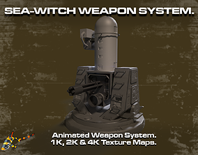 SEA WITCH WEAPONS SYSTEM 3D asset