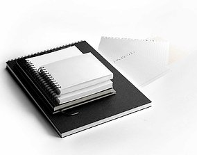 3D model Notebooks Set