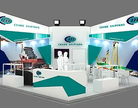 3D Exhibition Stand - ST0065
