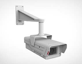 security camera signaling 3D model