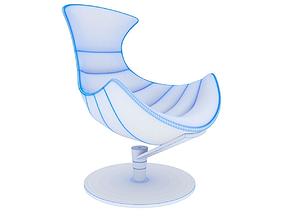 Lobster armchair HD model 3d