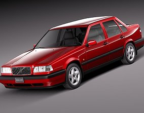 Volvo 850 Sedan EU 1991-1997 3D model
