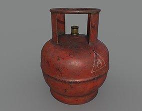 Gas bottle 3D asset realtime