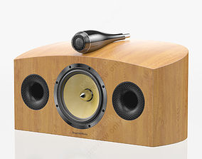 3D Bowers and Wilkins HTM4 D2 Cherrywood