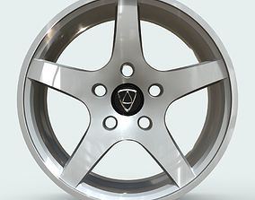 3D model Affekta Rim 1 Sport Tuning Design Concept