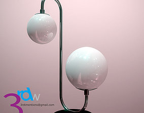 Table Lamp 3D model low-poly PBR