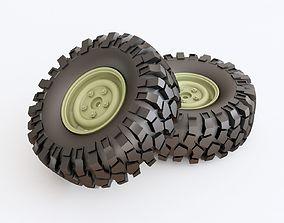 3D model Wheel 03