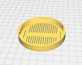 3D printable model Cover for glasses with gaps 70 mm