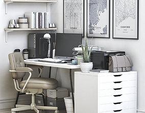 3D model Office workplace 55