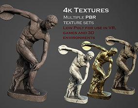 statue of Discobolus 2 3D model