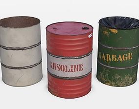Barrels Asset 03 3D model