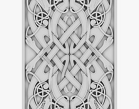 Celtic Ornament 27 3D model