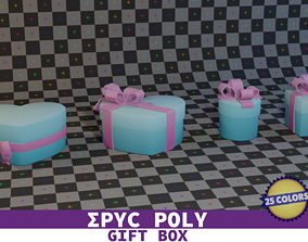 EPIC POLY - Gift Box 100 pcs 3D model