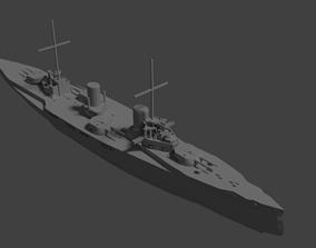 3D printable model SMS Von der Tann