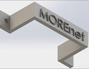 3D printable model PoE Mount